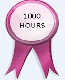 1000 Hours - Achievement 1000 Hours